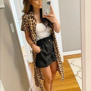 Leopard Duster/Dress